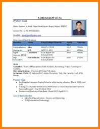 resume in pdf format 5 cv format pdf gcsemaths revision