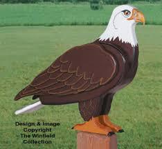 3d animal project patterns 3d size eagle woodcraft pattern