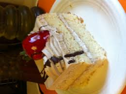 mocha tres leches cake bought at fresco market dessert
