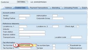 Sap Material Master Tables by Create Customer Master Data Sap Xd01