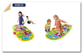 Jumping Light Baby Game Mat Music Carpet Kid Child Touch Play Game Musical Dance