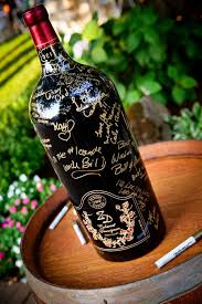 wine bottle guestbook 25 creative guestbook ideas hative