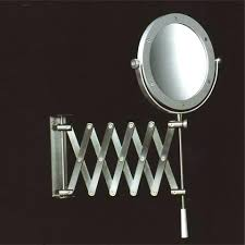 extendable magnifying bathroom mirror extendable magnifying bathroom mirror wall mirrors mounted lighted