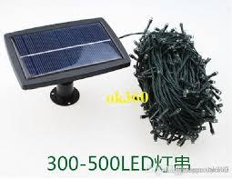 cheap solar powered led string light 300 500leds 31 51m lighting