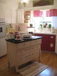 Repurposed Dresser Kitchen Island - desk turned into kitchen island home island kitchen desk