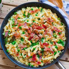 recipes with pasta creamy prosciutto pasta tatyanas everyday food