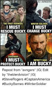 Winter Soldier Meme - ig i avngers the first avenger winter soldier i must i must rescue