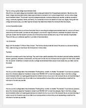 94 recommendation letters u2013 free sample example format download