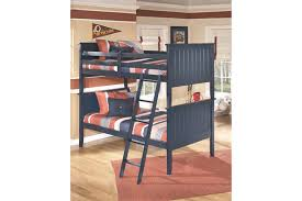 Ashley Furniture Bunk Beds With Desk Leo 4 Piece Twin Bunk Bedroom Ashley Furniture Homestore