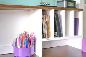 diy desk hutch with free plans from ana white i am a homemaker