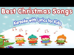 christmas hits best christmas songs karaoke with lyrics for kids