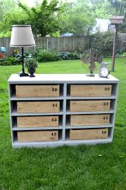 4 Sided Bookshelf Repurposed Dresser Bookshelf My Creative Days
