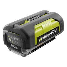 ryobi 40 volt lithium ion 2 6 ah battery op4026a the home depot