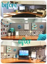 How To Decorate A Desk Diy Desk Glam Give Your Cubicle Office Or Work Space A Makeover