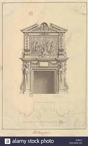 chimney piece stock photos chimney piece stock images alamy hall chimney piece houghton hall norfolk 1735 ink and wash