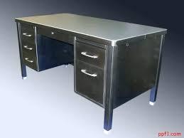 Metal Desks For Office Metal Office Desk Bethebridge Co