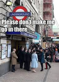 Meme London - photo dated 16 12 77 of queen elizabeth ii at heathrow central