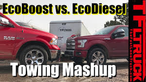 ford f150 ecoboost towing review 2017 ford f 150 ecoboost 10 speed vs ram 1500 ecodiesel 8 speed