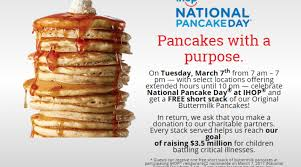 Get Free Pancakes At Participating March 7 Is National Pancake Day At Ihop Framingham Source