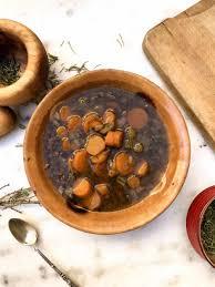 cuisiner lentilles s hes it s cold outside provencal lentilles du puy soup the spartan diet