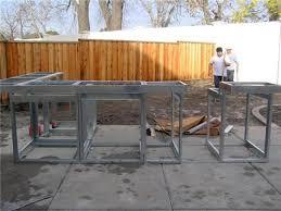 Outdoor Kitchen Island Kits Outdoor Kitchen Construction U2013 Masonry Wood Kits U0026 Prefab
