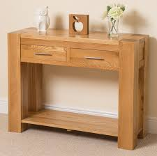 Solid Oak Furniture Kuba Oak Console Table Kuba Oak Furniture