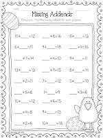 71 best math missing addends images on pinterest teaching ideas