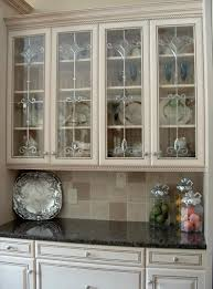 wood countertops kitchen glass cabinet doors lighting flooring