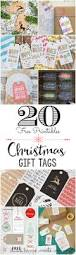 Free Printable Halloween Tags For Gift Bags by 20 Free Printable Christmas Gift Tags The Pinning Mama