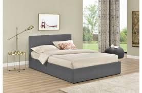 4ft Ottoman Beds Uk Birlea Berlin 4ft Small Grey Check Fabric Ottoman Bed By Birlea
