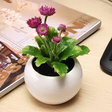 plants for office desk decorative flowers potted planters artificial plants office desk
