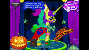halloween color background my little pony creator game halloween pony creator change colors