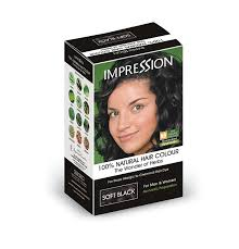 best hair dye without ammonia buy impression 100 chemical free natural hair colour soft black