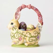 bunny basket bunny basket with 4 eggs robert co christmas town