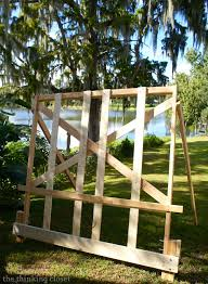 Headboard Made From Pallets How To Build A Wood Pallet Headboard U2014 The Thinking Closet
