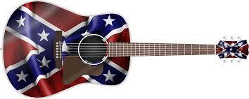 Confederate Flag And Union Flag Confederate Flag Guitar Wrap Skin Guitar Skin Guitar Wrap