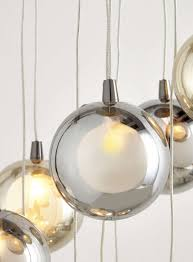 Bathroom Lighting Sale by Smoke And Champagne Banjo 10 Light Ceiling Cluster Bhs Lights