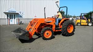 kubota l4150 4wd tractor youtube