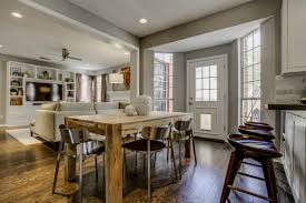 kitchen dining decorating ideas combining kitchen and dining room for spacious home interior