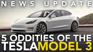 5 weird tesla model 3 features that may take some getting used to