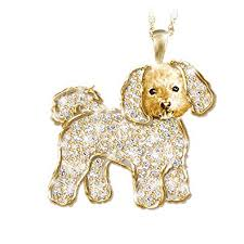 swarovski crystal dog necklace images Quot best in show quot dog pendant necklace with swarovski jpg