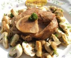 cuisiner jarret de veau jarret de veau aux chignons recette de jarret de veau aux