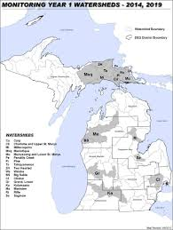 Kalamazoo Michigan Map by Michigan Wetlands Map Michigan Map