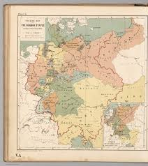 German States Map Plate V A Outline Map Of The German States As They Existed In