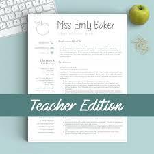 resume resume templates teachers best professional images on free