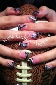 kick raider stilleto nails nail art pinterest raiders