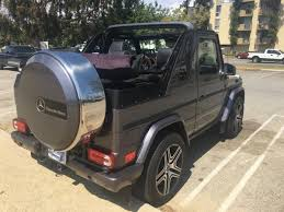 mercedes g class amg for sale mercedes g wagon convertible g500 amg for sale in the usa 4x4
