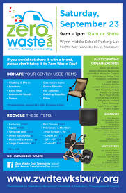 today is zero waste day saturday september 23 2017 9am 1pm