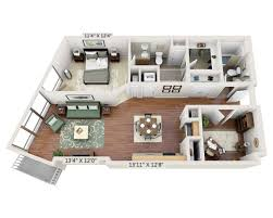 floor plans and pricing for view 14 washington dc one bedroom den a2ad 1