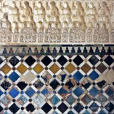 Moorish Design by Moorish Wall Mosaic Photograph By Heiko Koehrer Wagner